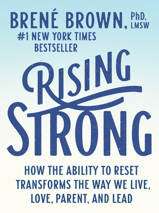Title details for Rising Strong by Brené Brown - Wait list